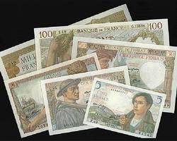 Billet anciens - Banque de France