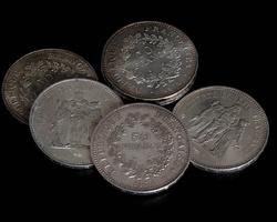 Pièces Argent - 50 Francs Hercule